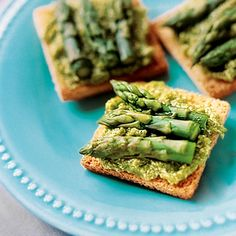 Asparagus-Tip Tea Sandwiches | 20 Easy Holiday Appetizers | Food | Disney Family.com
