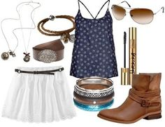 Vestido azul o blanco original footloose Cute Country Outfits, Really Cute Outfits, Western Outfits, Tv Show Outfits, Girl Outfits, Fashion Outfits, Womens Fashion, Movie Outfits, Themed Outfits