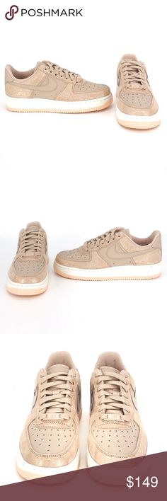 NWT Nike Air Force 1 HI SE Suede Butter WMNS NWT