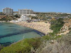 Beach in Malta