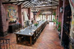 spanish style dining room design - Google Search