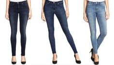 H&M denim with built-in shapewear.