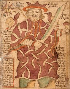Medieval texts colour our knowledge about Odin