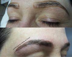 Instant erstellt mit #typorama#microblading #vorhernachher#auegenbrauen#härchenzeichnung#makeup #Schönheit #woman#3dbrows#brow#bremen