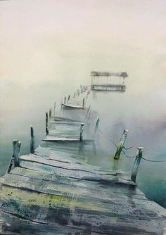 Théo Sauer WATERCOLOR #watercolor jd                                                                                                                                                      More