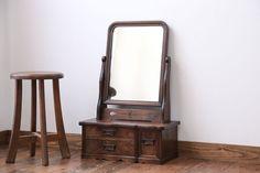 大正ロマン 上品でおしゃれな古い鏡台