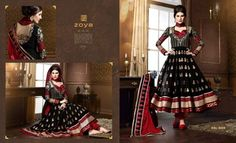 Zoya Solitaire Anarkali Suits Designs 2014-2015 Shalwar Kameez Dresses Collection (4)