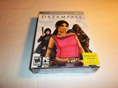 Dreamfall-The-Longest-Journey-rare-pc-game-NEW-IN-BOX-SEALED