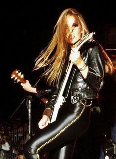 Lita Ford! (The Runaways)