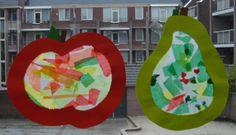Juffrouw Ilona: fruit knutselen