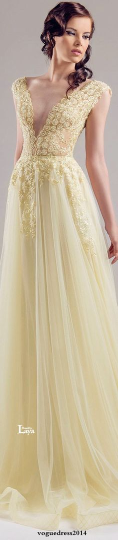♔LAYA♔CHRYSTELLE ATALLAH S/S 2015 COUTURE♔