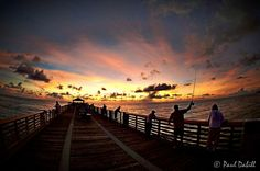 Fishing on the Juno pier. October 8th, 2012