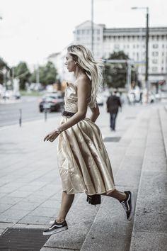 lena hoschek dress at the berlin fashion week - constantly k