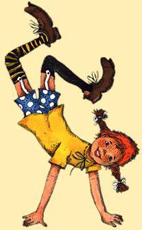 Astrid Lindgren: Pippi Langstrumpf  Pippi Longstocking