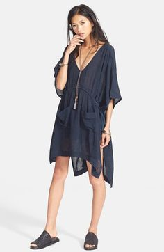 Free People 'Tied to Love' High/Low Tunic available at #Nordstrom