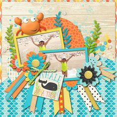 Making Waves by Amber Shaw & Erica Zane Cindy's Layered Templates - Set 174 by Cindy Schneider