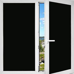 Buy Decorative Film's Blackout Privacy window film completely blacks out your windows to offer total privacy throughout both the day and night. Excellent for rooms that require absolute privacy, the Blackout privacy film makes an excellent idea for home improvement that is DIY friendly. Because it creates a nearly pitch-black setting in your room or office, the Blackout is extremely useful for heat rejection. Wherever you desire nearly complete darkness and high heat rejection, the Blackout… Elephant Trunk Up, Kaleen Rugs, Dual Pane Windows, Window Privacy, Window Films, Glass Partition, Standing Mirror, Static Cling, Window Coverings