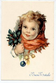 Xmas Childrens Doll Teddy Bear Complete Set of 6 Postcards PC Circa 1950 Italy | eBay