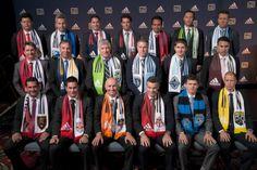 2014 Major League Soccer (MLS) Head Coaches for each team