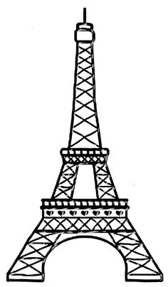 Wondering where to find free clipart for your website or offline project? Search for over clipart graphics by independent creators. Get your clipart for presentation. Paris Birthday Parties, Paris Party, Paris Theme, Paris Png, Thema Paris, Tour Effel, Eiffel Tower Drawing, Eiffel Tower Clip Art, Paris Clipart