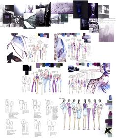 Home - ARTS THREAD - ArtsThread : Fashion Portfolio - Romanticism Noir project research, fashion sketchbook illustrations & fashion design flats // James Whitehouse Mise En Page Portfolio Mode, Fashion Portfolio Layout, Fashion Design Sketchbook, Fashion Design Drawings, Portfolio Design, Fashion Sketches, Portfolio Ideas, Sketchbook Layout, Sketchbook Inspiration