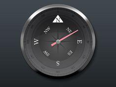 Compass - by Saar Gil | #ui
