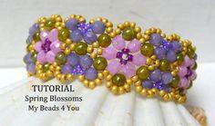 PDF Beading Tutorial Bracelet Beading Pattern Seed door mybeads4you, $8.00