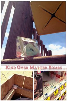 kind over matter love bombs