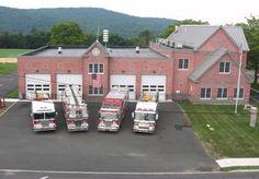 Orangeburg Fire Department, Orangeburg, NY #headquarters #newyork #fire #setcom #orangeburg #brick #firestations http://setcomcorp.com/firewireless.html