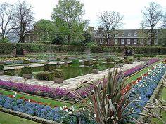 Gardens of Kensington Palace, London, England