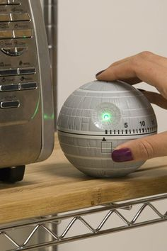 Star Wars Death Star Kitchen Timer with Lights and Sounds!