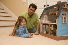 die 43 besten bilder von puppenhausm bel aus holz barbie. Black Bedroom Furniture Sets. Home Design Ideas