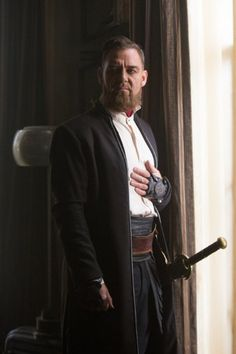 Still of Marton Csokas in Into the Badlands (2015)