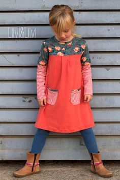 A-Linien-Kleid 'London' - Rapantinchen - Love this dress for little girls!