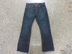 Mossimo Supply Co Blue Denim Jeans sz 32x30 Slim Boot Cut  #Mossimo #BootCut #tcpkickz