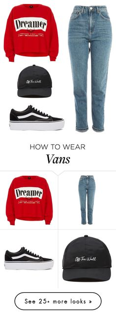 """""""Untitled #471"""" by new-style-to-try on Polyvore featuring Vans, Topshop, River Island and casual"""