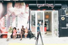 Wynwood mural, neon Serendipity Photography by Amanda Julca