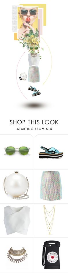 """""""Untitled #801"""" by sophielovesblue ❤ liked on Polyvore featuring Oris, Ray-Ban, Chanel, Jaded, Chicwish and Packandgo"""