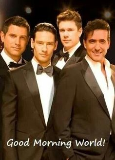 Il Divo... they sing just as beautiful as they look!!