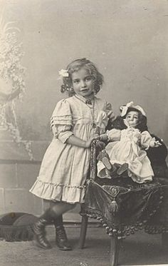 Nice Doll Child Girl Photographic Fantasy France Ca1900 | eBay