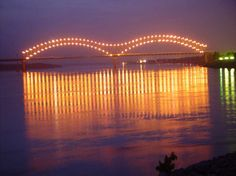 To drive over The Bridge in Memphis with my grandchildren taking them to my most favorite place ever!