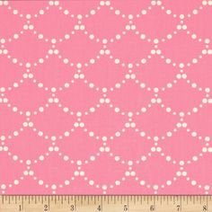 Designed by Bari J. for Art Gallery, this cotton print fabric is perfect for quilting, apparel and home decor accents. Art Gallery Fabric features 200 thread count of finely woven cotton. Colors include rose pink and white.