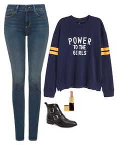 Kara Danvers Inspired Outfit by daniellakresovic on Polyvore featuring polyvore fashion style NYDJ Tom Ford clothing