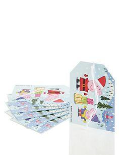 Peppa Pig™ 6 Christmas Gift Tags Home