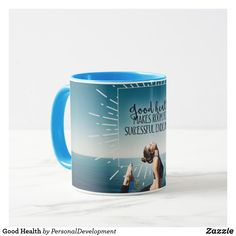 Sip from one of our many Inspirational Quotes coffee mugs, travel mugs and tea cups offered on Zazzle. Photo Mugs, Funny Jokes, Coffee Mugs, Best Gifts, Monogram, Ceramics, Make It Yourself, Tableware, Health