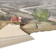 'sand.stone.road' by thomas kosbau   andrew wetzler iida awards 2010 winner - designboom | architecture
