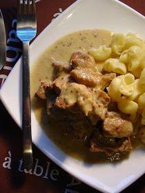 Valérie Cuisine: Porc Mijote aux Graines de Moutarde