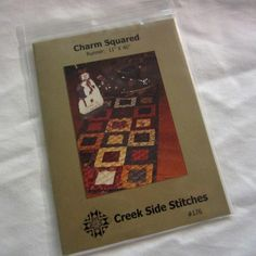 """Crafty Sewing & Quilting: """"Charm Squared"""" is the Quilt Pattern!"""