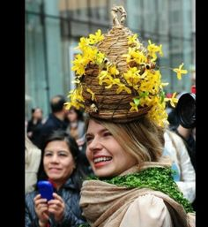 Easter Bonnet Parade - Bee Hive