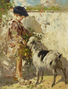 """Friends"" -- by Vincenzo Irolli (Italian, 1860-1945)"
